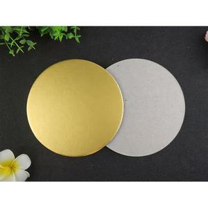 8'' 9'' 10'' 11'' 12'' Mousse Cardboard Round Cake Drum Board Mousse 4 inch Cake Board