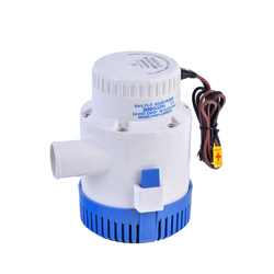 Sailflo factory price marine 3500gph no auto submersible water boat bilge pump 12v 24v