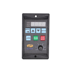 Mini VFD Single Phase 220VAC Variable Frequency Drive 1.5KW Frequency Converter