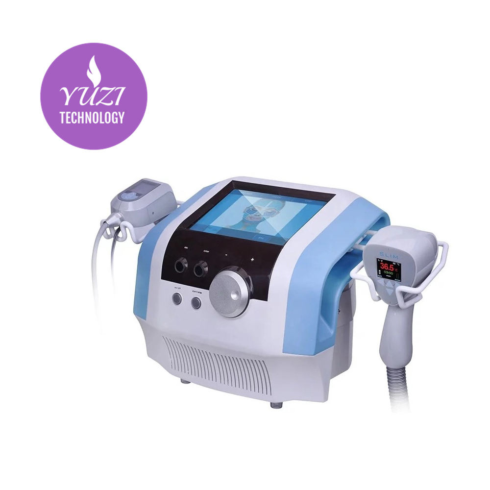 Slimming beauty machine Ultra is the first non-invasive device to deliver simultaneously Ultrasound and Radio Frequency.