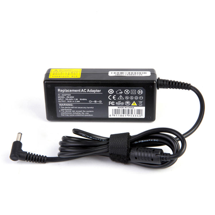 65W 19.5V 3.34A 4.5*3.0mm wholesale laptop ac dc charger for DELL universal laptop adapter
