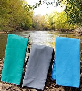 eco friendly microfibre suede towel pet recyclable beach towel from china