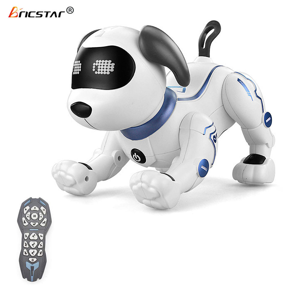 Bricstar handstand push-up electronic pets dancing programmable smart robot dog toy