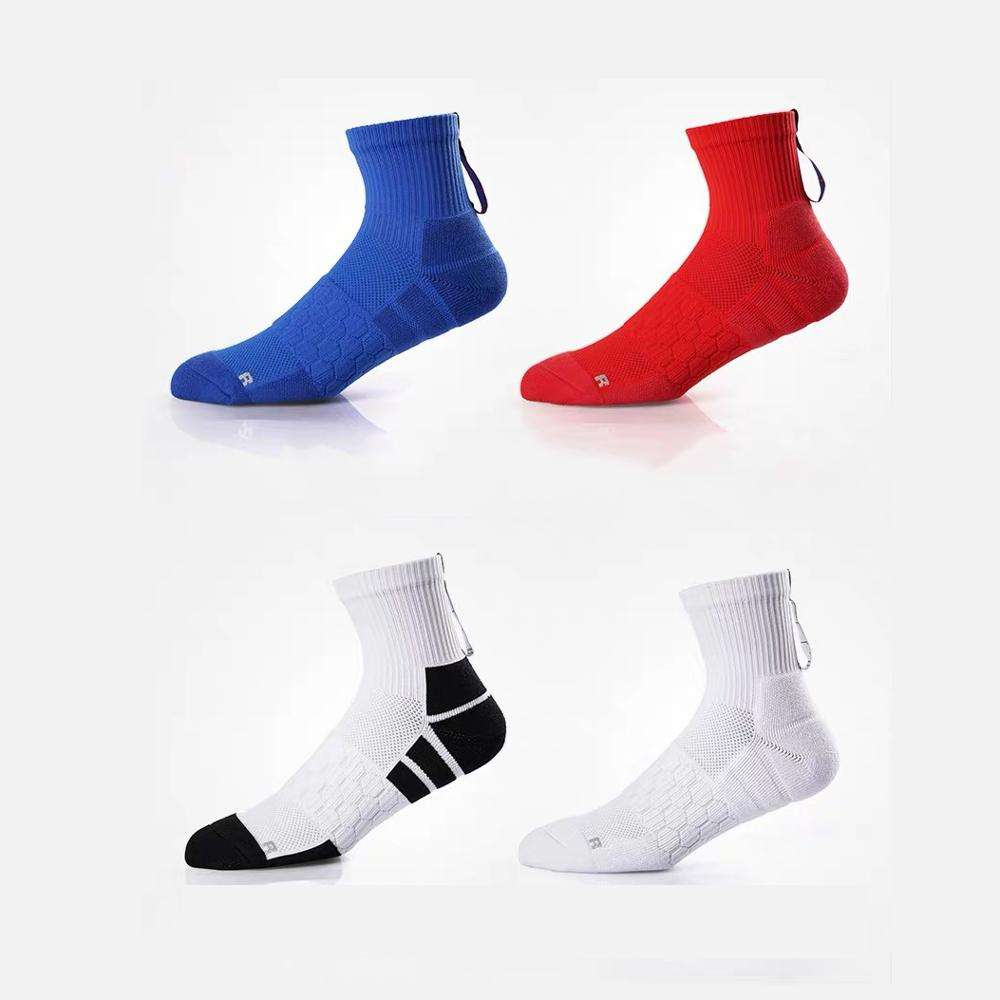 Wholesale custom athletic cycling running compression basketball sport socks