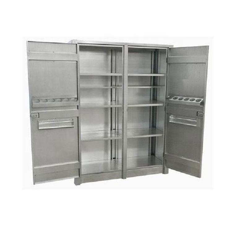 China manufacturer custom stainless steel storage furniture steel cabinet for factory