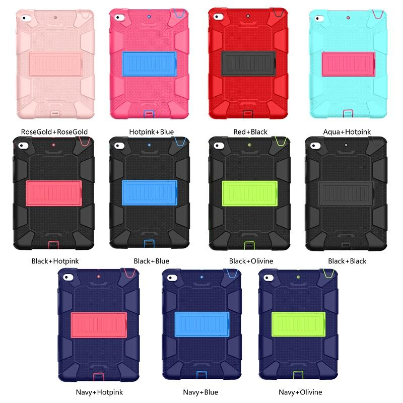 Fabriek Hoge Kwaliteit Rubber Rugged Case Tablet Anti-Fal Stand Waterdicht Voor Ipad Mini Cover