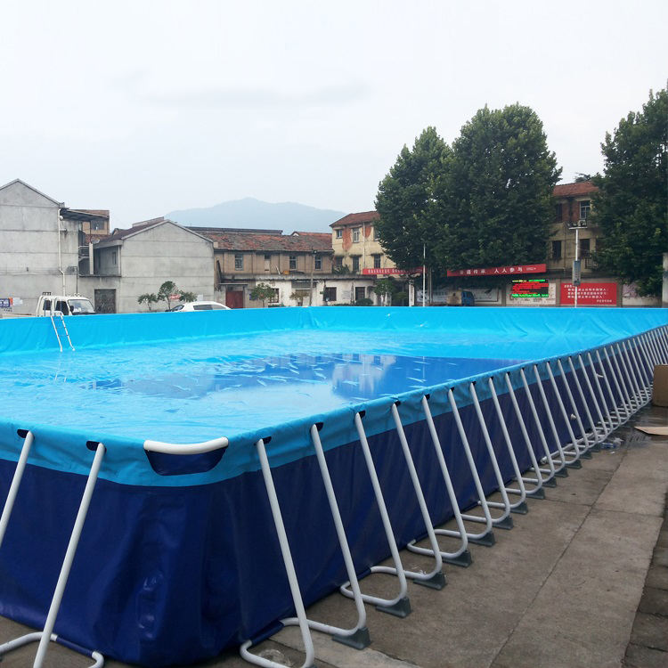 Y large number of Chinese supply PVC adult children outdoor swimming pools above ground covered swimming pools easy to install