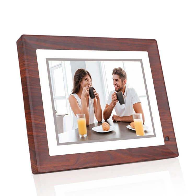 2020 New Promotion Gift Fashion Design with Colorful Picture and Video Function WiFi Cloud Digital Photo Frame 9 inch