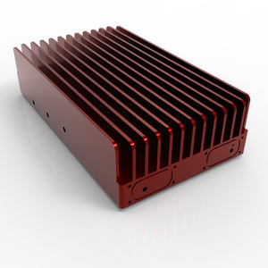Research and development of aluminum extrusion difficult aluminum alloy radiator LED radiator aluminum products processing anode