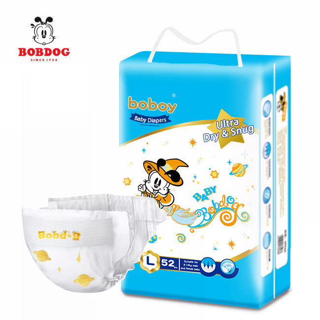 Wholesale New Born Smart Thailand Cotton Cheap Baby Dry Diaper Sweety Baby Disposable Diapers Super soft breathable