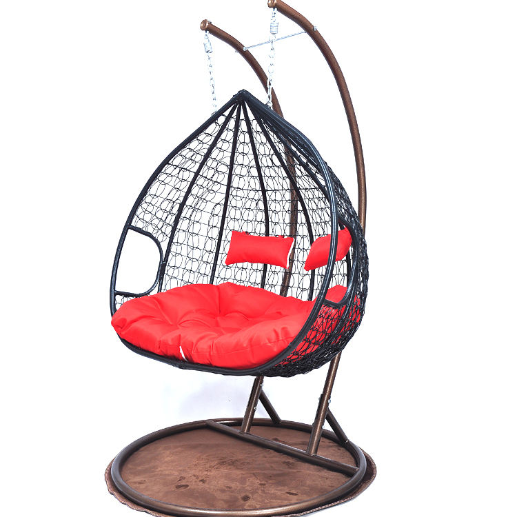 Quality And Quantity Assured Rattan Swing Double Hanging Egg Chair