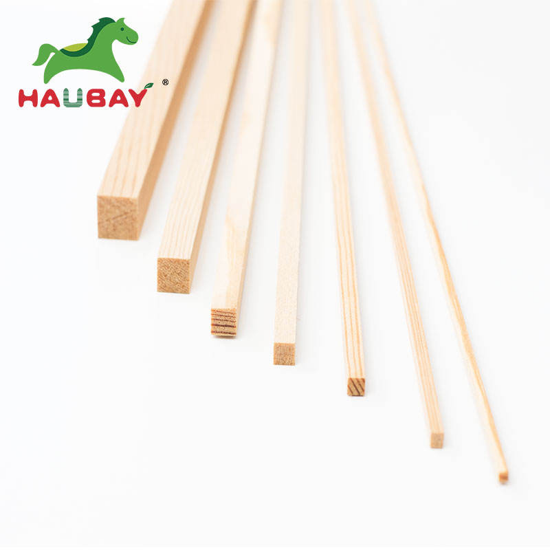 2MM 3MM 4MM 5MM 6MM 8MM 10MM Fsc Pine Wood Lumber Slats Prices Pine Stick Model 2 X 2 MM