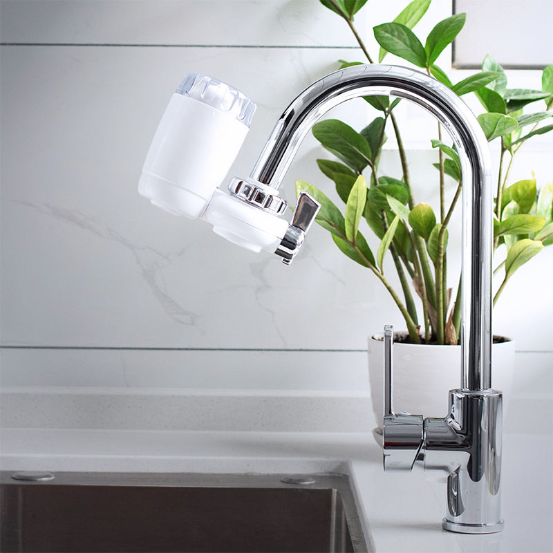 Domestic kitchen ceramic faucet filter tap water purifier filter direct drinking