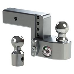 CNC machining high quality aluminum adjustable ball mount