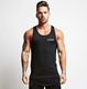Wholesale Custom Cotton Stringer Gym Vest Fitness Singlet Workout Muscle Bodybuilding Mens Tank Top