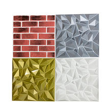 Waterproof Modern Interior decoration 3d wall decorative panel