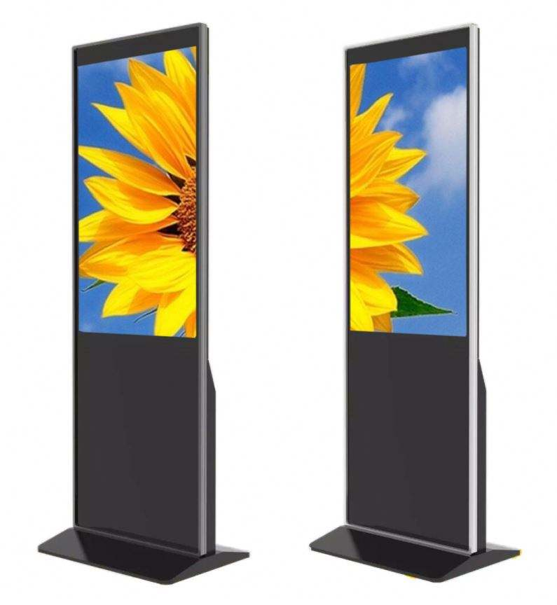 Led Outdoor Display Reclame Dubbelzijdig Digital Signage Met Ce Certificaat
