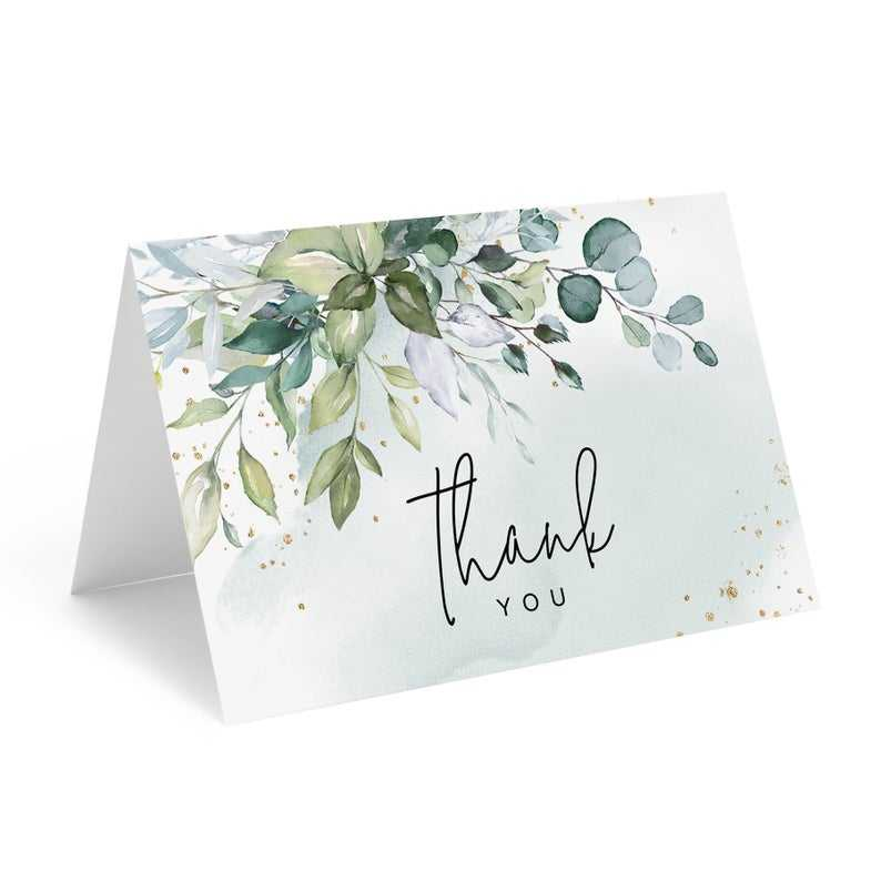 New Design Wedding Business Thank You Cards With Envelopes