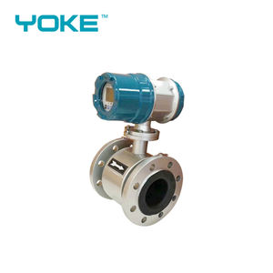 digital flowmeter inline electromagnetic liquid flow meter