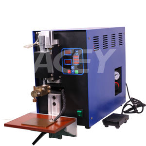 Battery Pack Pouch Cell Electrode Spot Welding Machine