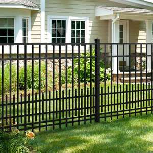 No dig industrial welded balcony yard residential trellis gates fence panels