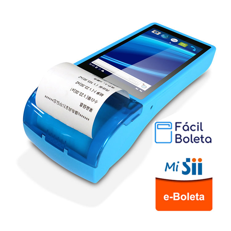 Pos Perfect compatibility with e-Boleta and facil Boleta 5 inch Android handheld terminal with 58mm printer