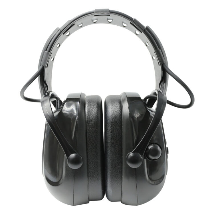 Electronic protection noise reduction pickup headphones Bluetooth headset soundproof earmuffs industrial anti-noise headphones