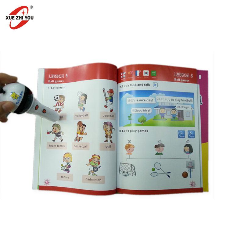 공장 도매 아이 OID 독서 펜 어린이 조기 학습 기계 영어 스페인어 이야기 펜 스마트 포인트 읽기 펜 책