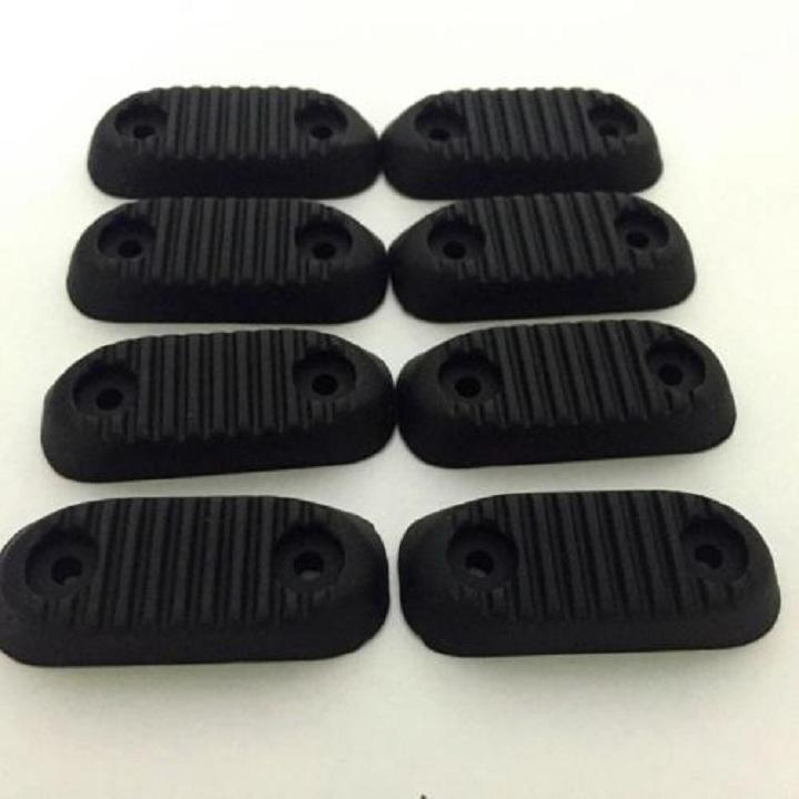 Custom Rubber Molding Services, Compression Moulding Rubber Parts, Black Color Rubber Feet