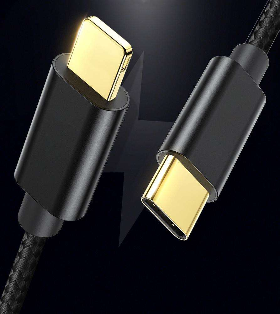 2019 Hot Selling Quick Charger Cable For iPhone for iPad Type C To 8 pin Data Charging USB C Cable For iPhone 11