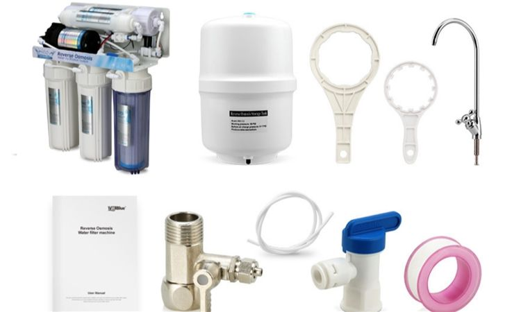 Ro Water Purifier Hot Taiwan Water Purifier Filter System High Quality 5 Stage Water Purifier Mini Ro Water Purifier For Home
