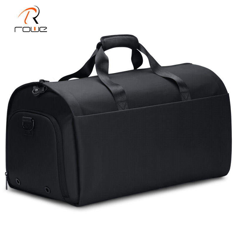 FENRUIEN 2020 57L Travel & Sports Large Duffel Bags Weekend Flight Bag Carry On Suit Garment Bag with Shoes Compartment