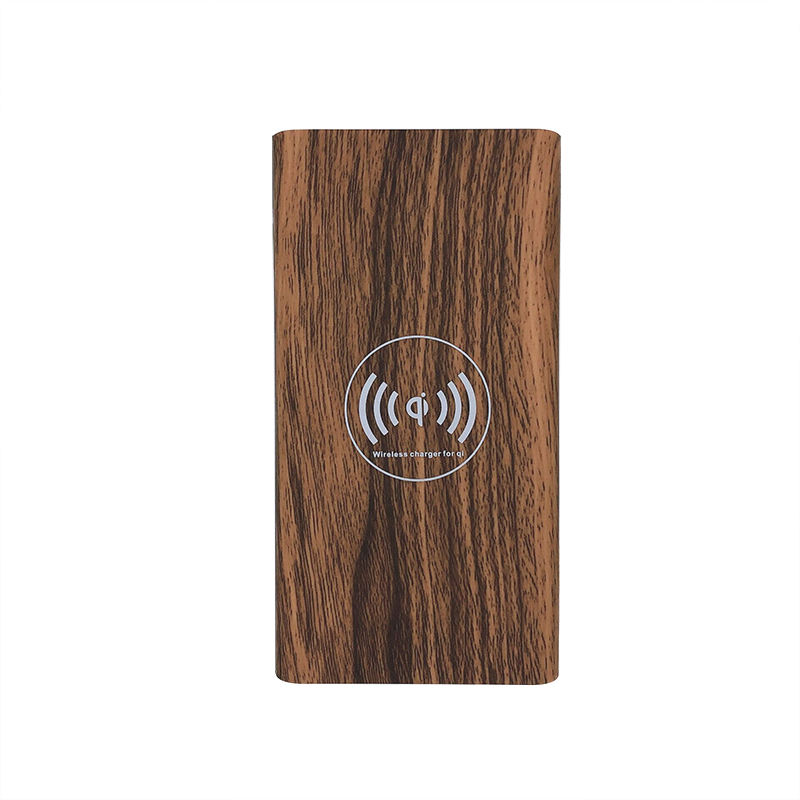 Bestseller Drahtlose Lade Universal Power 10000 mah Holz Wireless Power Bank für Corporate Geschenk