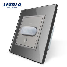 Livolo Lighting LED Light Motion Sensor Switch Human Induction Infrared Motion PIR wall switch