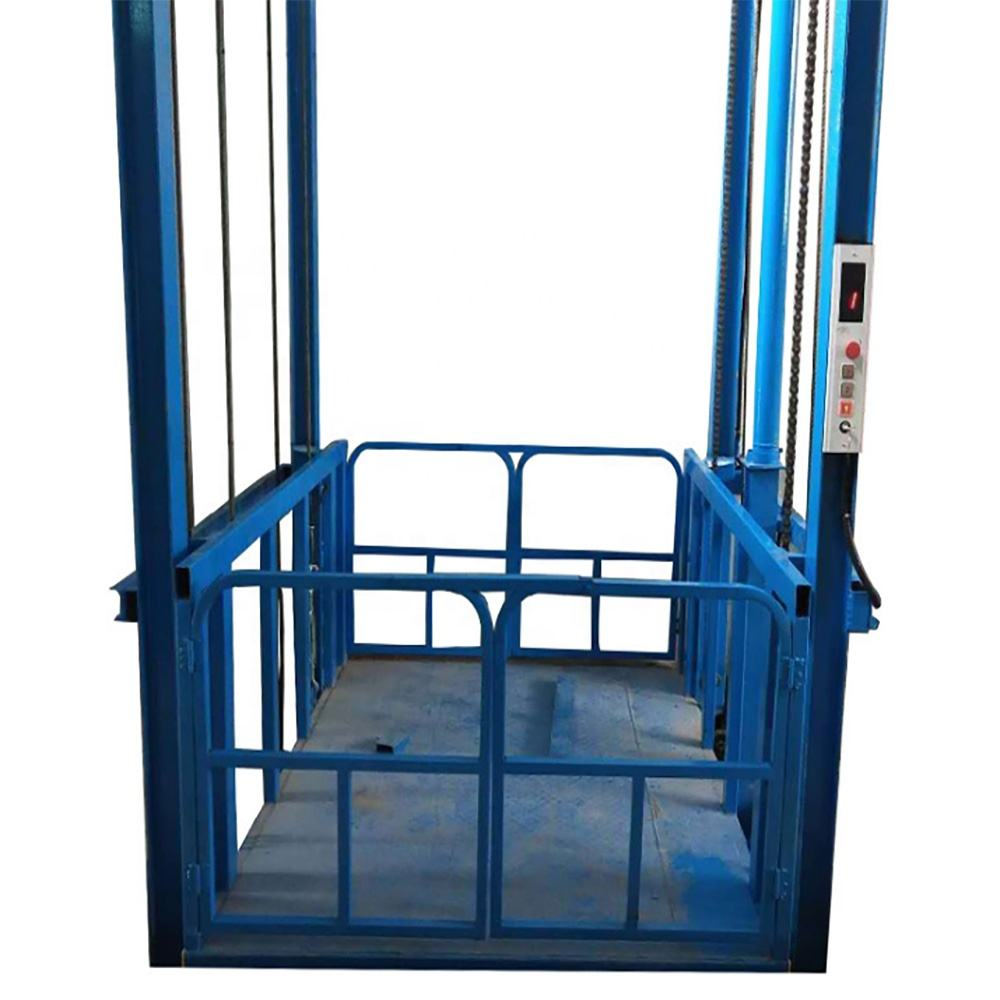 Manufacturer Supply Making telescopic lift working platform goods lift hot sale material lift