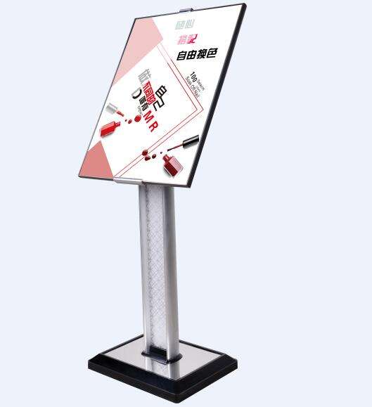 Outdoor Floor Display Stand Sign Holder With Poster Frame A2