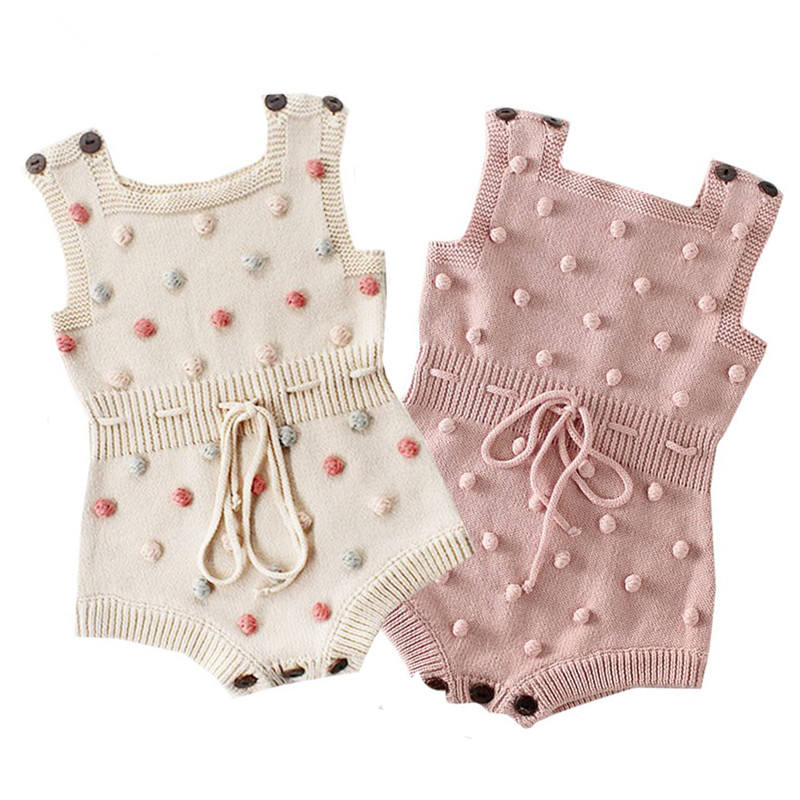 Baby Knitted Clothes Autumn Knit Baby Girl Romper Boys Jumpsuit Overall Newnborn Infant Baby Clothes