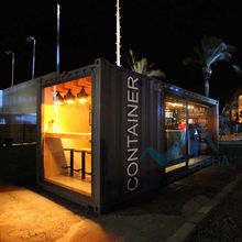 Cafe contain 20ft shipping container bar portable container cafe coffee shop