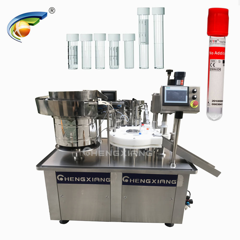 USA LOVE vacuum blood collection tube filling machine,test tube filling capping machine