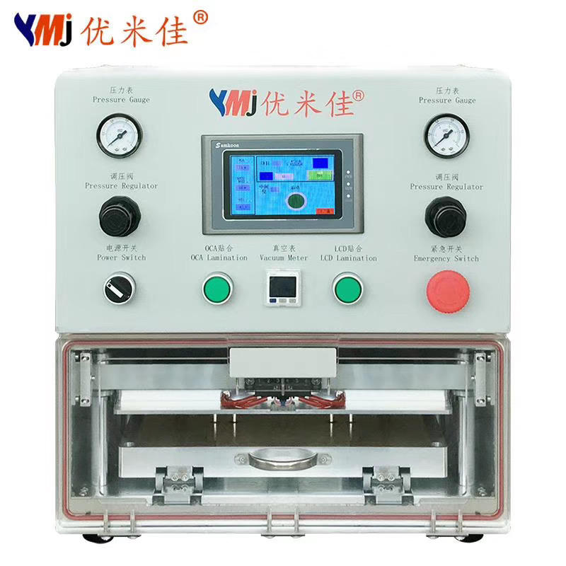 YMJ 13 inches Universal Mobile Phone OCA Laminating Machine for iPad Tablet Samsung Edge Screen LCD repair machine