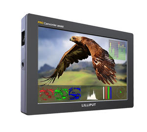 3G Sdi Hdmi Camera Veld Monitor 7 Inch Ips Full Hd 1920X1200 Met 3D Lut Draagbare Dslr monitor Voor Sony Nikon Canon