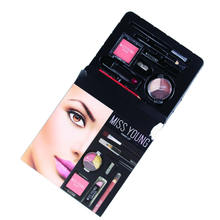 Make Up Kit Beauty Cosmetics Women Make up Set with Lipstick Eyeshadow eyebrow mascara
