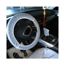 Modern simplicity disposable transparent steering wheel cover for car One time seat cover for car repair