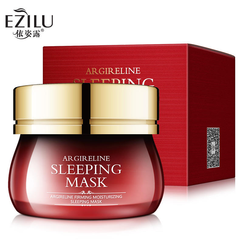 120ml Hexapeptide Tightening Moisturizing Sleeping Mask Skincare Deep Absorb Hydrating Firming Hyaluronic Acid Facial Mask Cream
