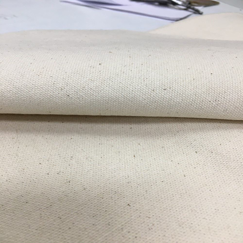 In 10 OUNCE and IT COMES DUCK Fabric MADE from 100% ORGANIC Cotton Canvas Fabric Home Textile Plain Dyed COMBED Woven Lining