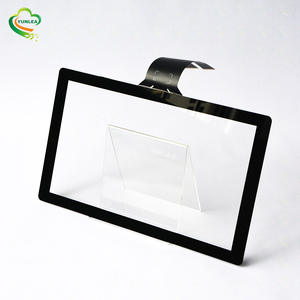 Customized available usb interface 15.6 inch capacitive touchscreen overlay kit open frame with multi touch