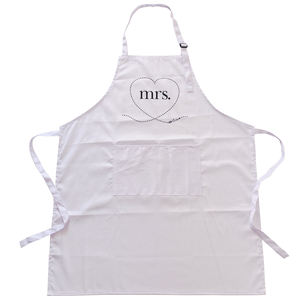 Full Length Custom Logo Wholesale Cheap 100% Cotton Printed Kitchen Apron