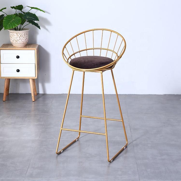 التصميم الحديث التجاري بار الأثاث رخيصة مطعم مقهى الكراسي البراز مقعد مرتفع كرسي بار معدني