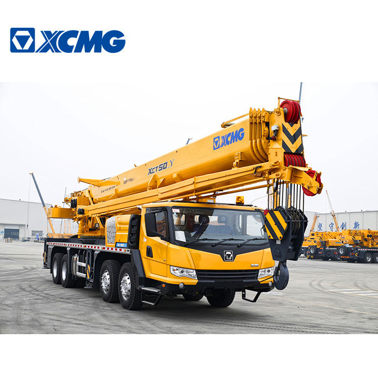 XCMG Factory high quality 50 ton Mobile Truck Crane XCT50_Y with competitive price