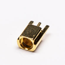 Offset Type MMCX Female Coaxial Connector PCB Mount Connector
